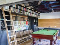 Rumpus room and library
