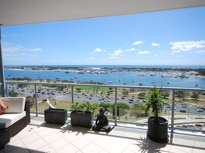 Balcony and the Broadwater
