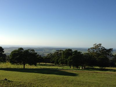 Endless panoramic vistas to the Pacific Ocean and the Milton hinterland