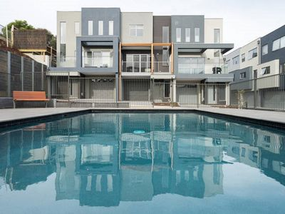 Pool is close to your apartment - around the corner