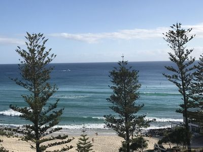 Burleigh Beach and Ocean Views
