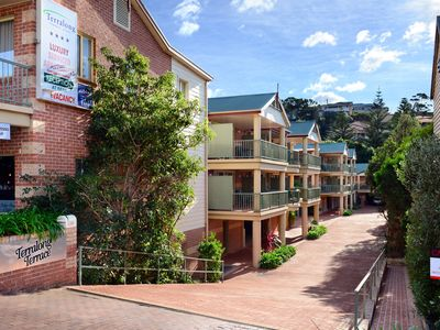 External view Terralong Terrace Apartments