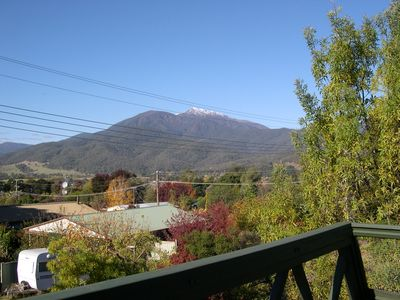 Mt Bogong from Deck