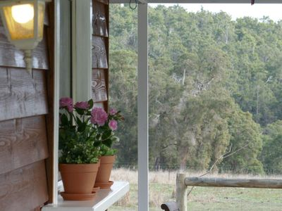 Peacefull setting, private verandah