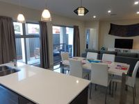 open plan kitchen/dining/lounge