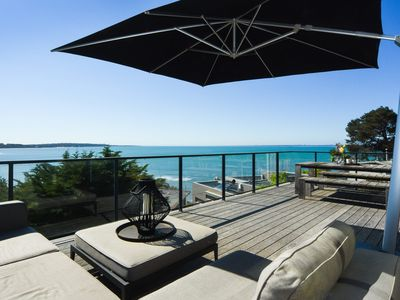 Moorilla - Amazing bay views across Balnarring Beach to Somers