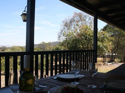 Lunch on the verandah