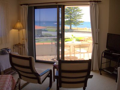 1st floor lounge with views to Palm Beach, Cockburn Sound and Garden Island