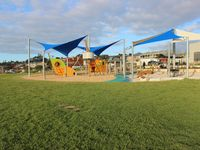 Playground 100m from house on reserve