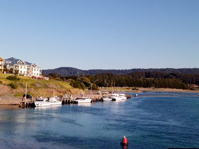 OPPOSITE THE NAROOMA INLET AND WALKWAYS.