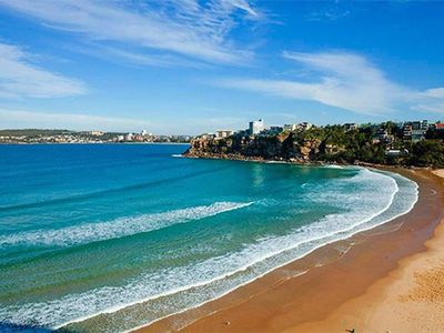 Freshwater Beach is one of Sydney's best  and safest surf beaches