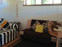 Lounge and Futon in Family room
