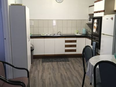 Freshly updated kitchen. No stairs. All one level