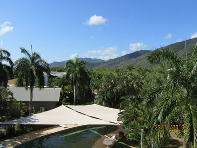 Fabulous views over the mountains pool and Golf Couse