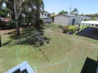 Large back yard for the children to play in.