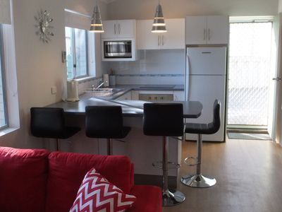 Fully appointed modern kitchen