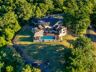 Pepperberry House Aerial View