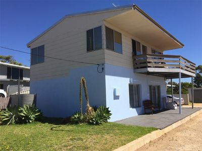 BlueSun Beach House - view from road