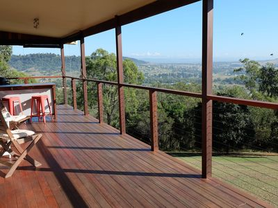 Fabulous views of the Lockyer Valley to be enjoyed any time of the day