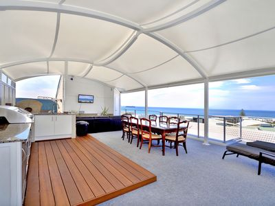 Private Rooftop with panoramic views to Moreton Island and Pumicestone Passage