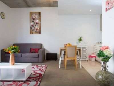 Open plan - lounge, dining and kitchen