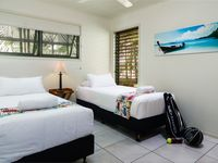 Third bedroom in one the beach houses