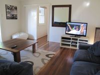 Lounge with flat screen TV, Air conditioning