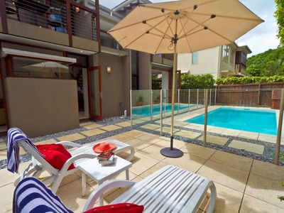 Laze by your private pool