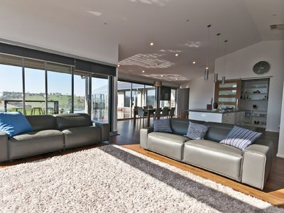 Open plan living and views