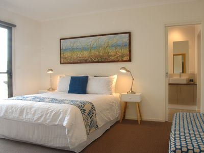 Master bedroom with adjoining ensuite and walk-in robe.