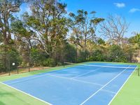 Your own full size tennis court!