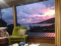 Sunset from the couch