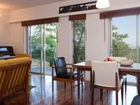 Open plan living/dining with ocean view