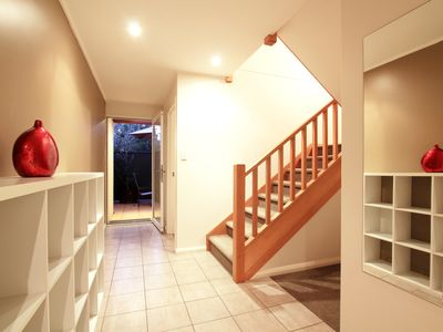 2 Bedroom Spa Apartment - Downstairs Hallway
