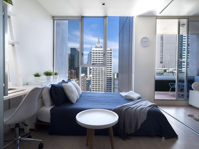 Bedroom 1 with amazing view