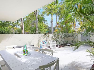 Family BBQ dinners will be enjoyed in your own private courtyard