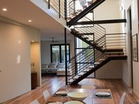Open Ground Floor with Stunning ZigZag Staircase