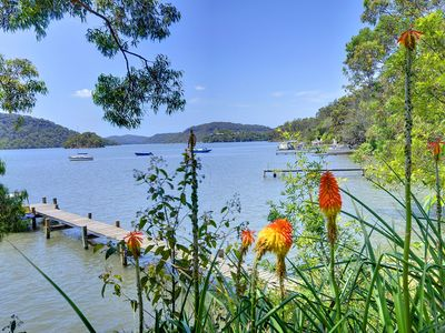 Private Jetty and Pontoon on the Hawkesbury River