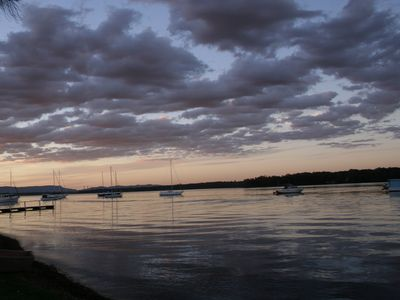 Lake Macquarie - view from house