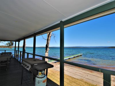 Waterviews and private jetty