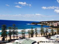 View from rooftop - Manly Beach Apartment with Views