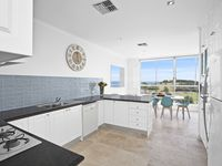 Fully equipped kitchen with dishwasher, microwave and amazing views