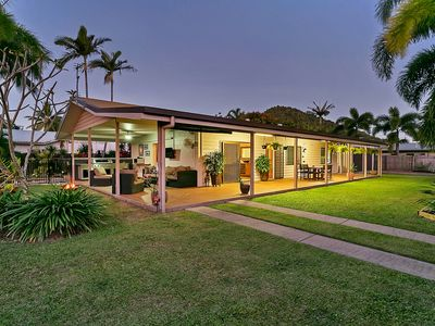 Private, secure home with large tropical garden