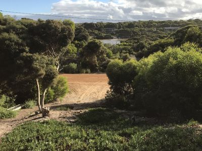 View to Harriet River from the deck