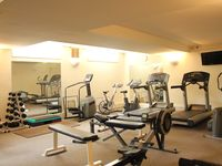 One of the two gyms available