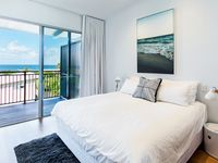 Master Bedroom with Ocean Views – Watch the water from the ensuite shower
