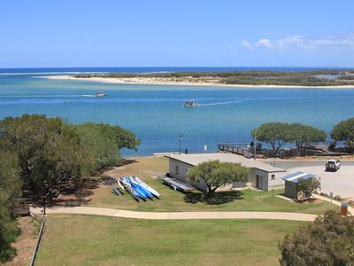 Overlooking Bribie island and Pumicestone Passage