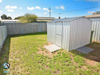 Fully fenced backyard - perfect for dogs!