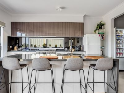 Kitchen with modern appliances