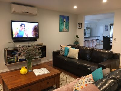 Comfortable open plan lounge complete with Flat Screen & DVD